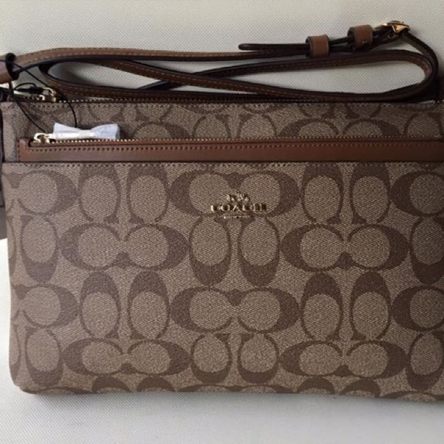 eb37fad10ff9 ... australia authentic coach sling bag from usa womens fashion bags  wallets on carousell 87330 5e9a5 ...