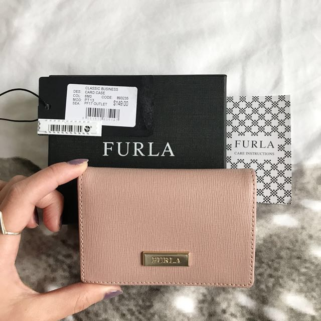 Authentic Furla card case