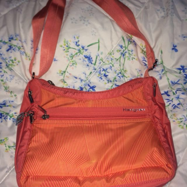 Authentic Hedgren Orange shoulder bag