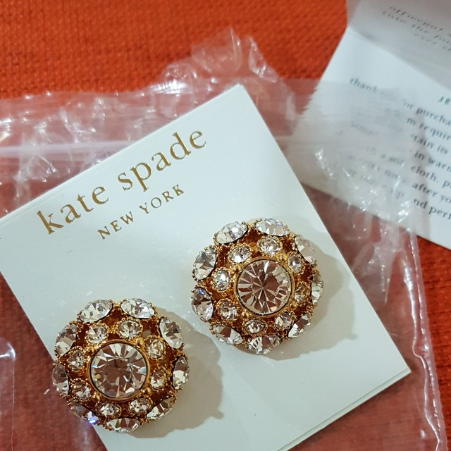 5ee3c118cf7f Authentic kate spade earrings, Women's Fashion, Jewellery on Carousell