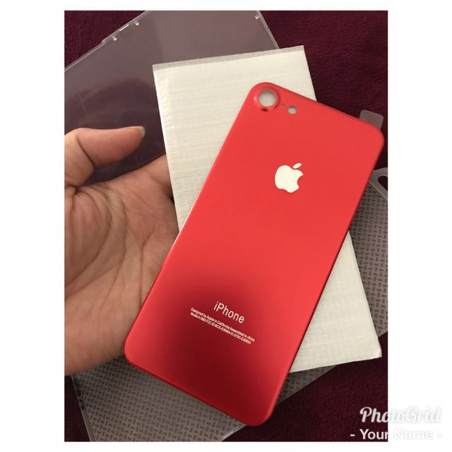 back titanium alloy back tempered for iphone 7