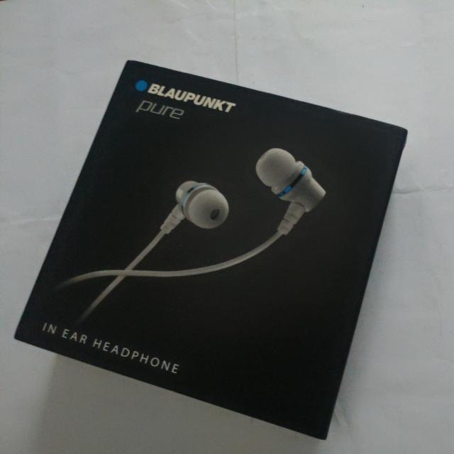Blaupunkt Pure In Ear Earphones