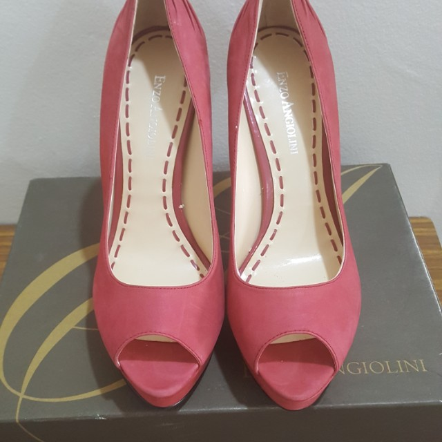 f14ced92115 BN Red Heels by Enzo Angiolini