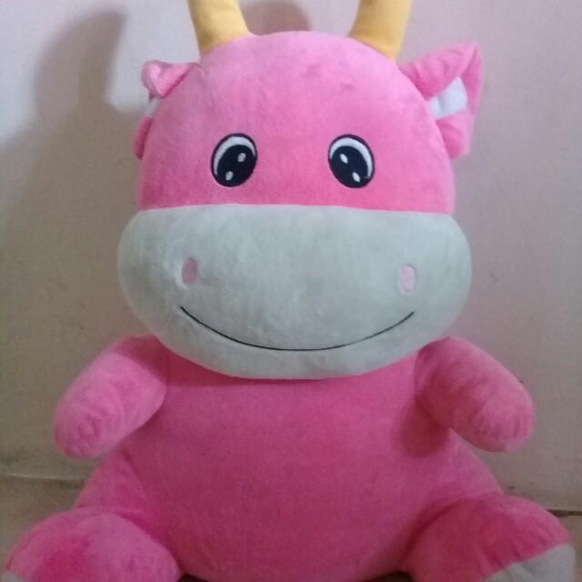 #mau Mothercare Boneka pink- Medium