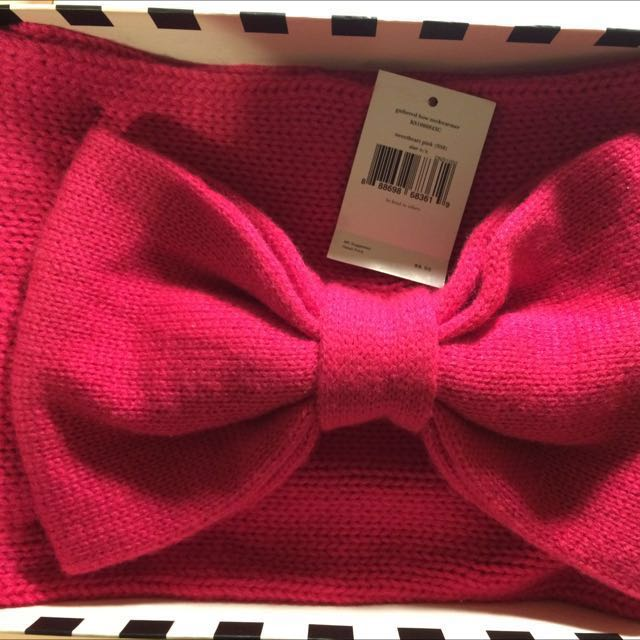 Brand New Kate Spade Infinity Bow Scarf
