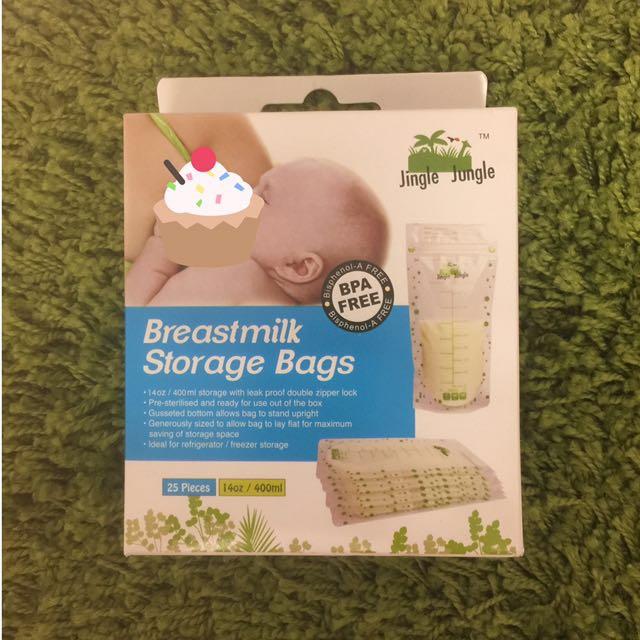 Breastmilk Storage Bags (Jingle Jungle)