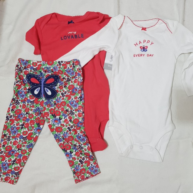 f83f82cb4bb0 Carter s Set for Baby Girl (9 months)
