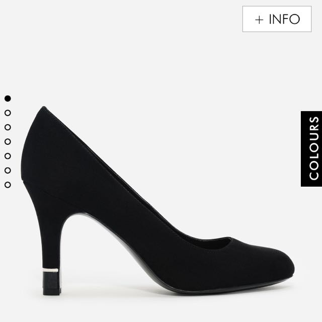 Charles & Keith Faux Suede Pumps