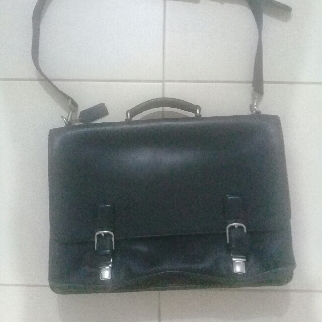 COACH  leather bag orginal  (Black) from US
