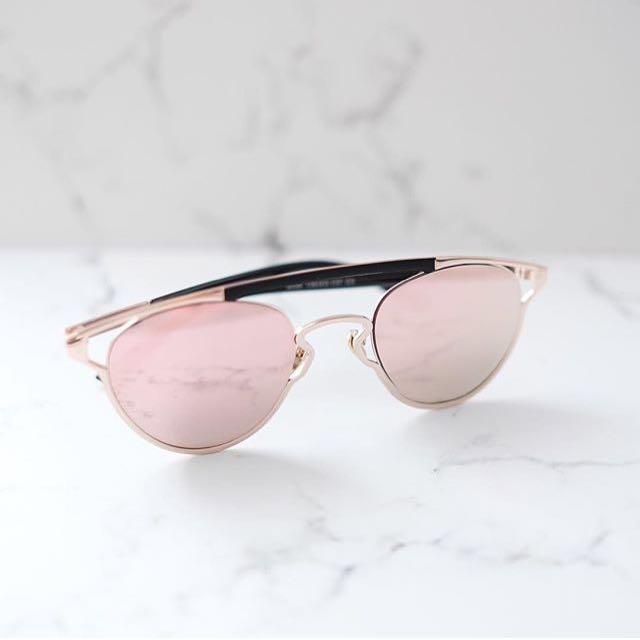 Coco Rosegold Sunglasses