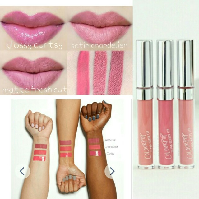 Colourpop Pink Shades