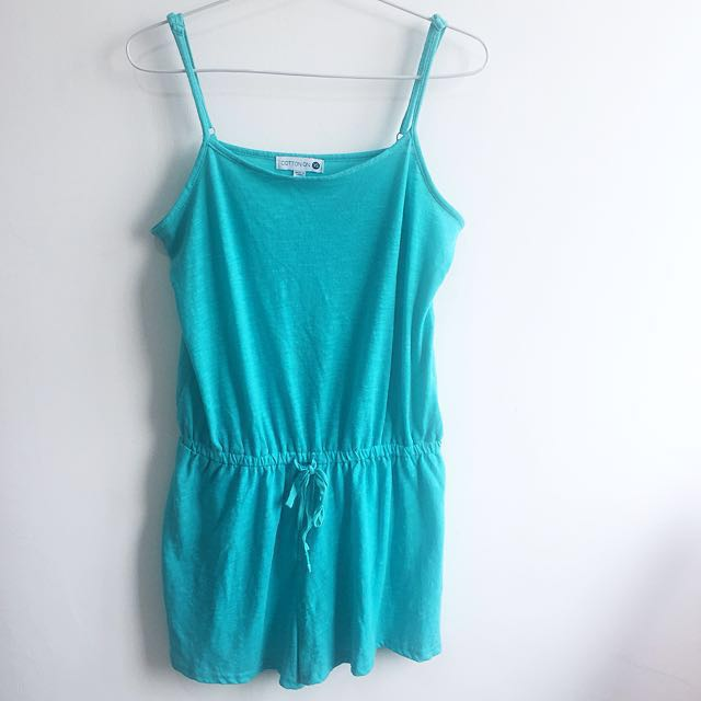 Cotton On Turquoise Jump Suit