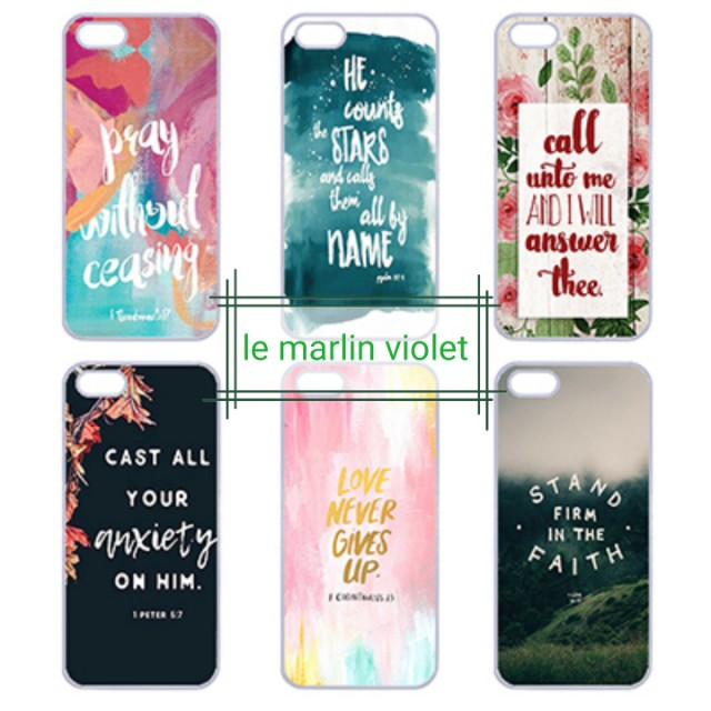 💜 Customise Phone Case Cover - Bible Verses Series