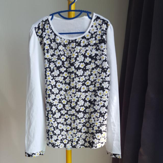 Cute Daisy Free Size Blouse Top