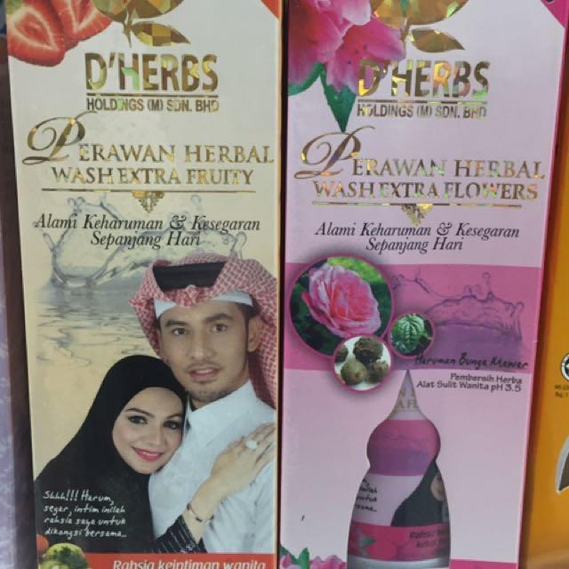D'Herbs Perawan Herbal Feminine Extrawash