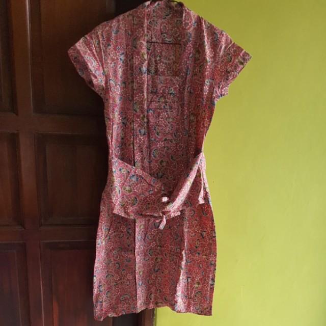 Dress batik kutu baru