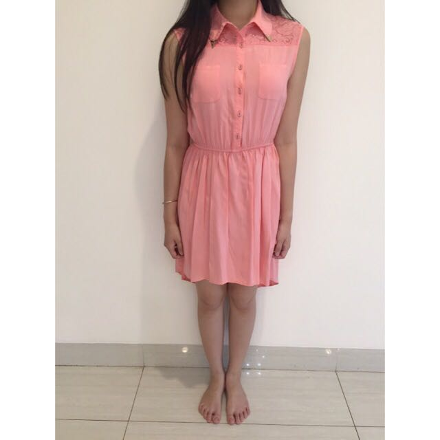 Dress Cache Cache Pink size S