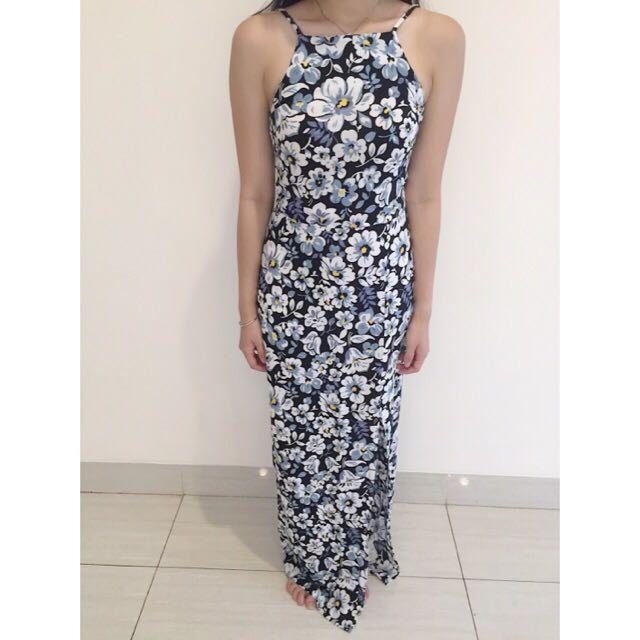 Dress Floral Zalora size S