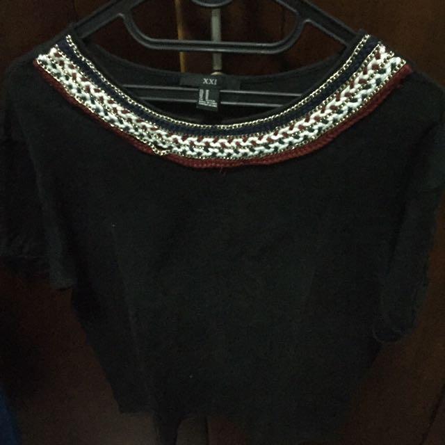 Forever 21 black shirt