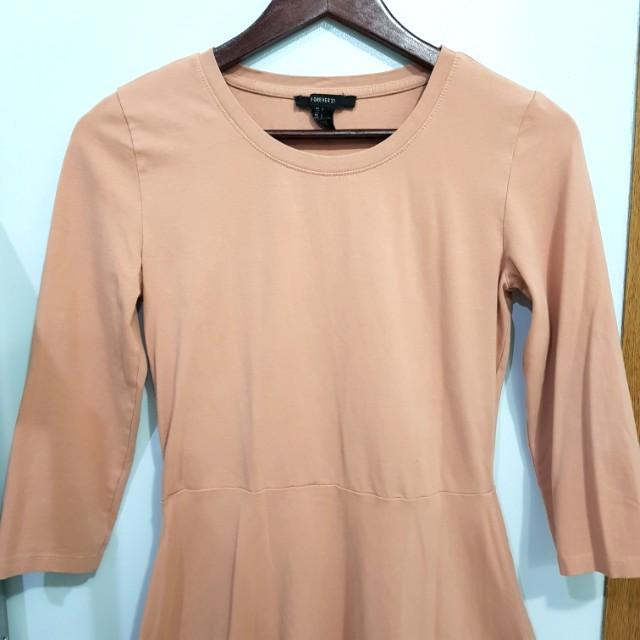 SALE! FOREVER 21 Old Rose Skater Dress
