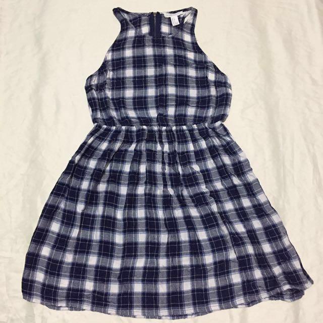 Forever 21 Checkered Dress
