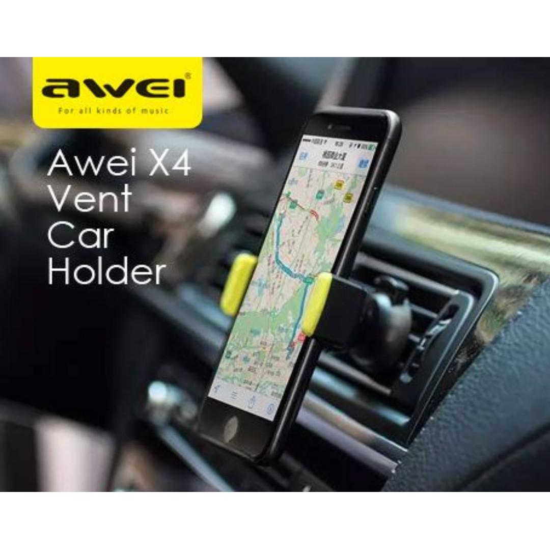 Handphone Hp Car Air Vent Mount Holder Awei X4 Car Accessories On