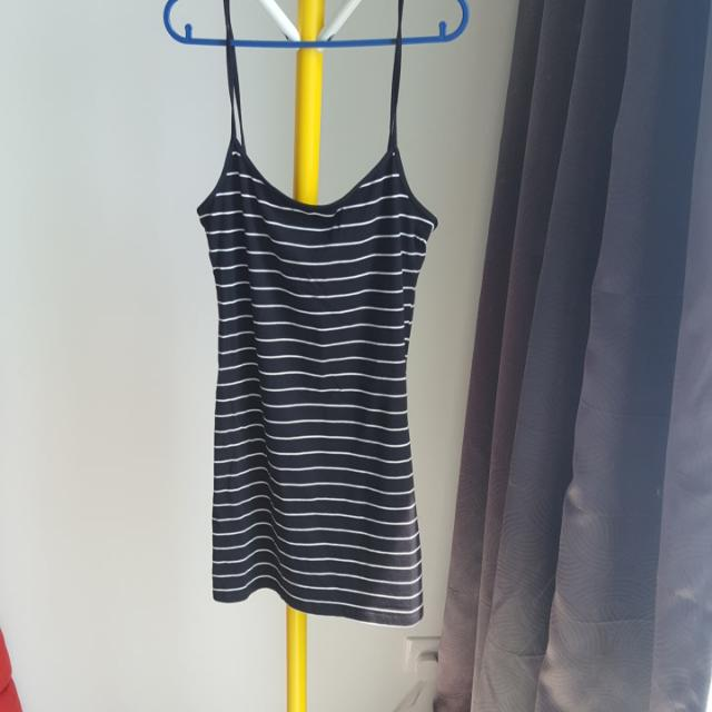 H&M Stripe Cami Stretchy Strapy Top S (Fit Up To M)