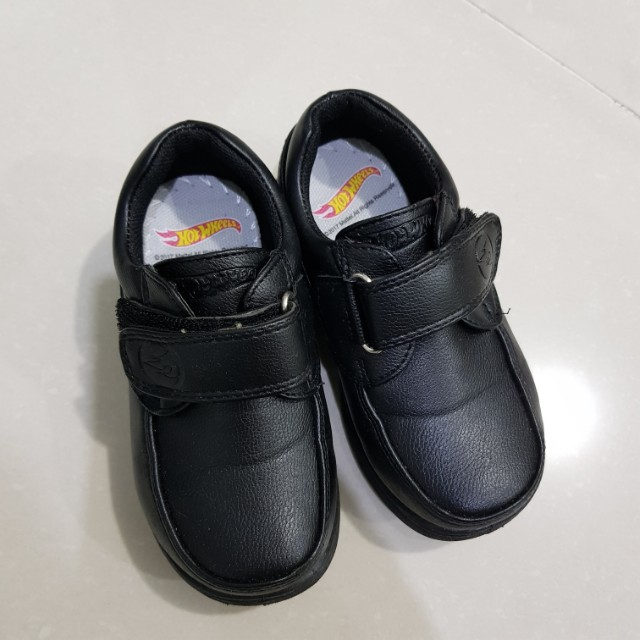 HOT WHEELS Toddler Black Shoes Size8, Babies & Kids, Boys' Apparel on Carousell