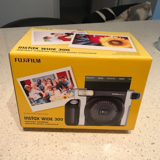 Instax wide brand new camera (black grey)