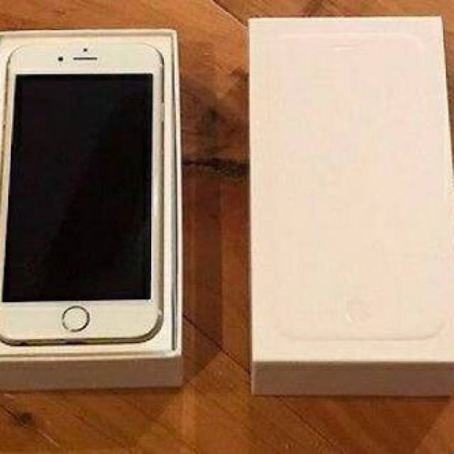 Iphone 6 gold 16gb fullset