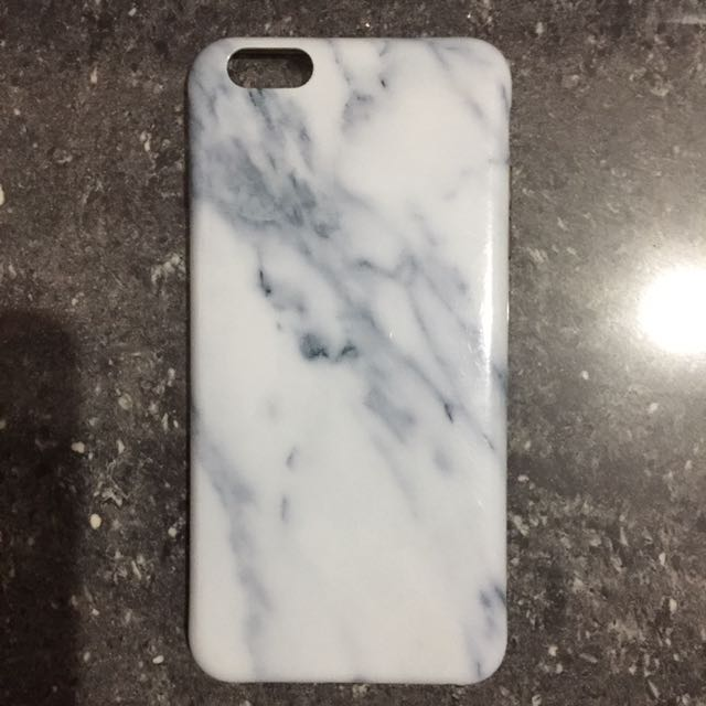 iphone 6 plus case white marble