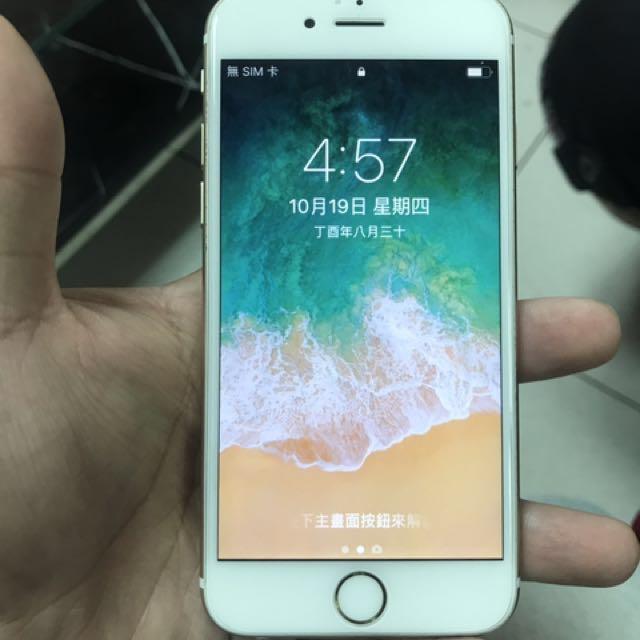 iPhone 6 S金 16G