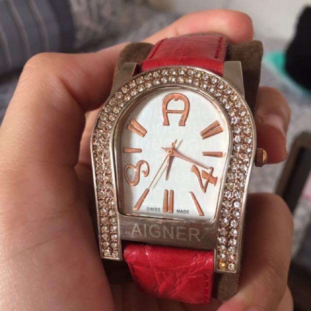 Jam tangan Aigner premium