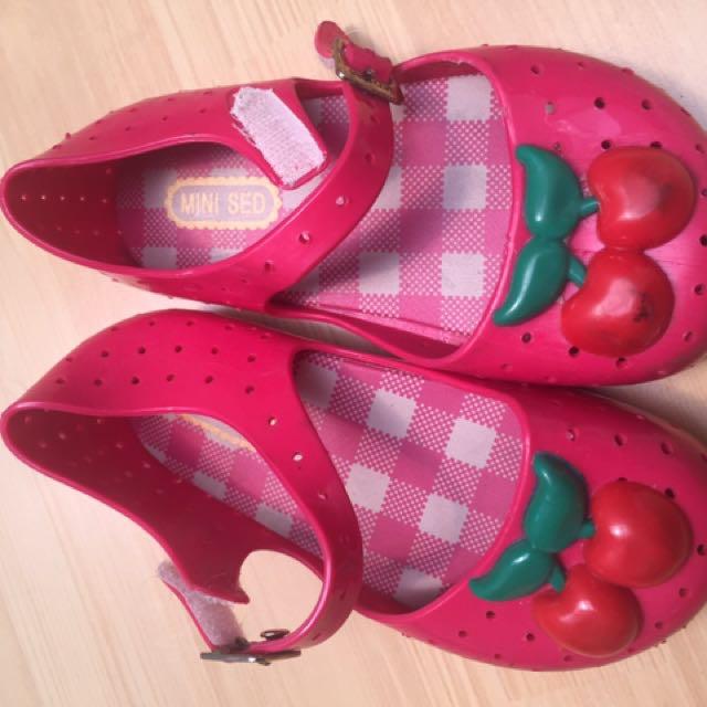Jelly shoes mini