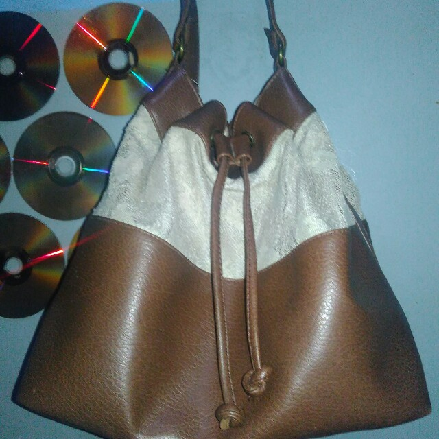 Jersey lacey bag