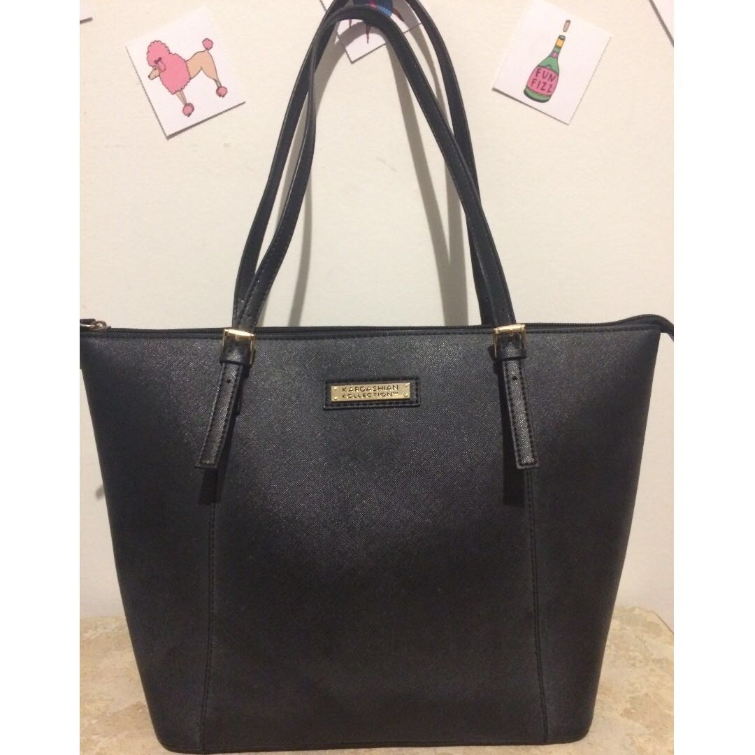 Kardashian Collection black tote bag