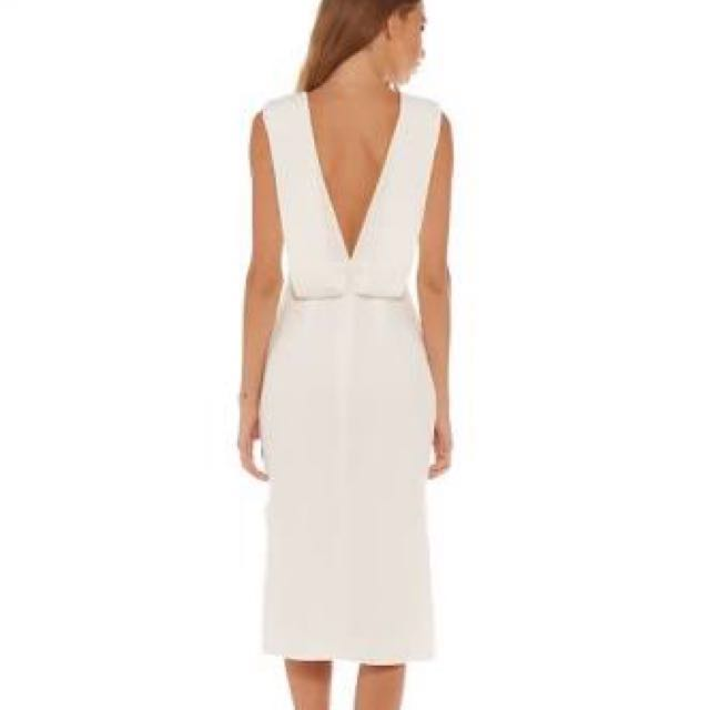 Keepsake Origami Dress White Small Sir Mccall Zimmermann Manning