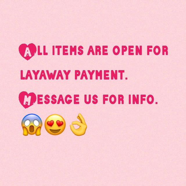 Layaway Payment