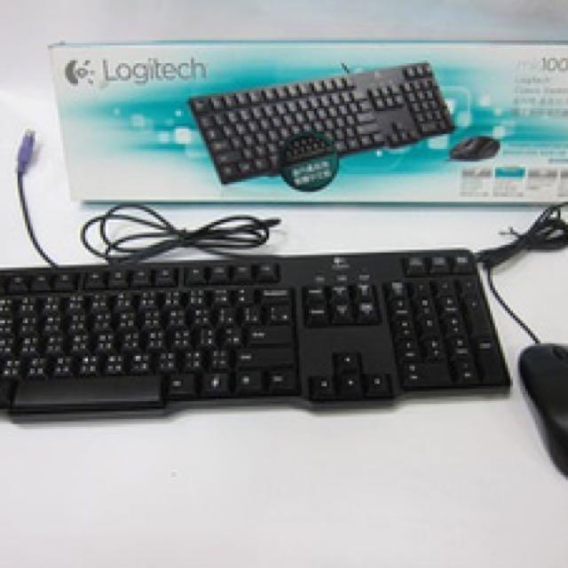 🆕Logitech Classic Desktop Keyboard MK100
