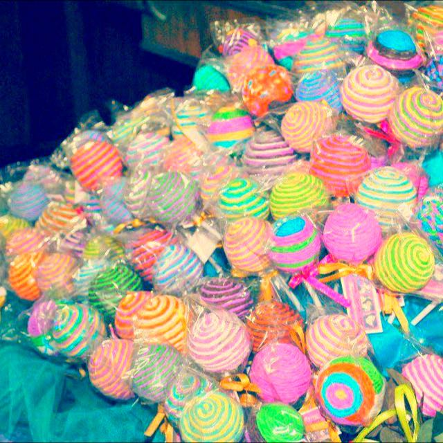 Lollipop souvenirs