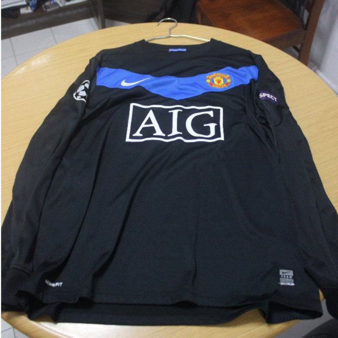 reputable site 9295c 8ca52 Manchester United Away Jersey 09/10 Nike Long Sleeve L Size ...