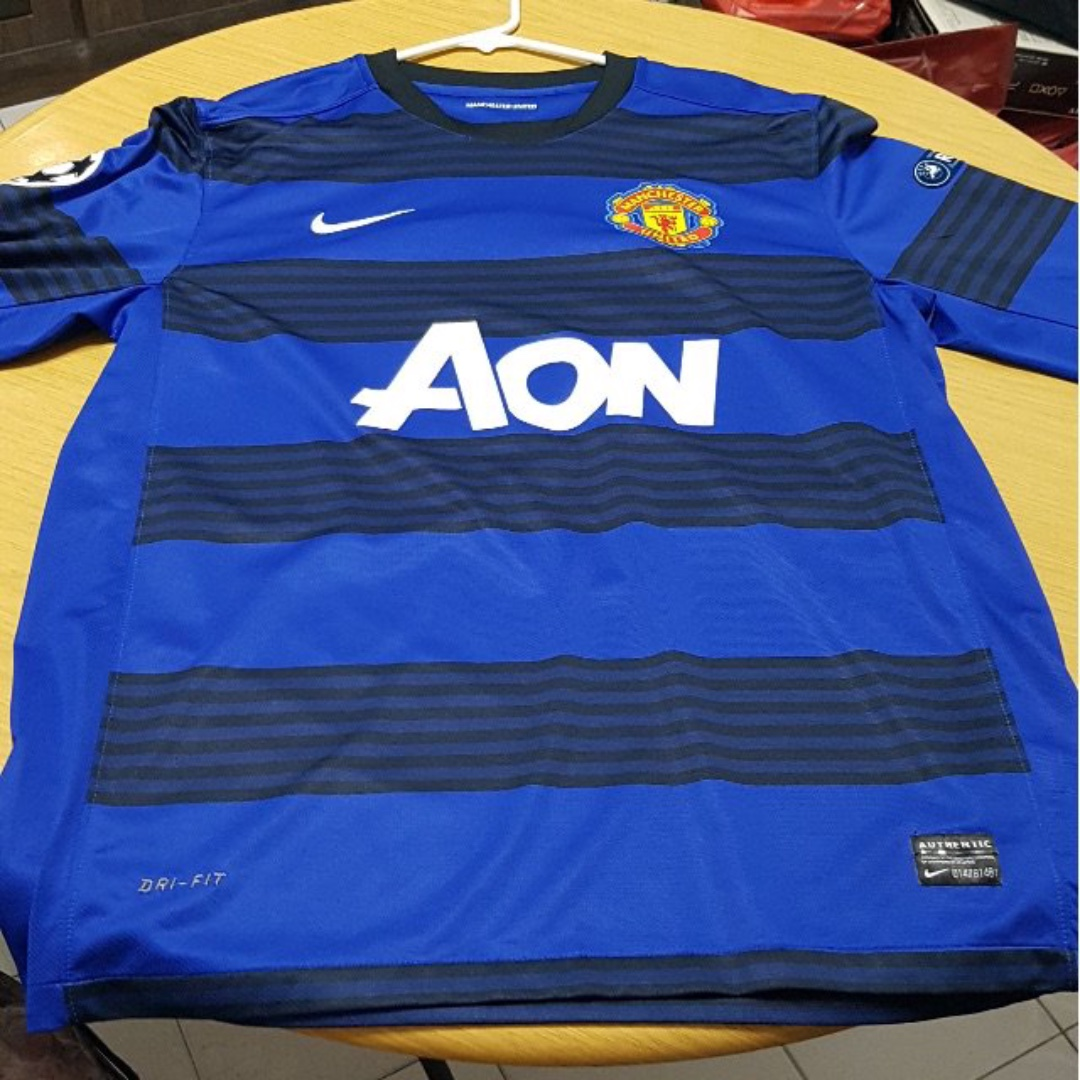5bf6344e746 Manchester United Away Shirt 11- 13 Nike Long Sleeve - Authentic ...