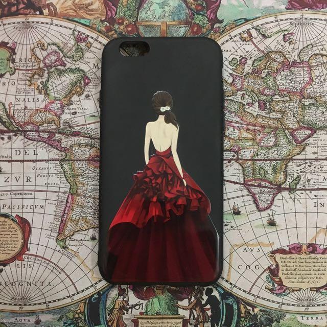 Matte Princess Case for iPhone 6
