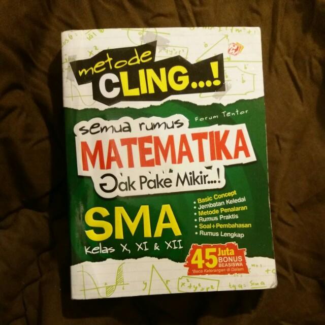 Metode CLING - Semua Rumus Matematika SMA