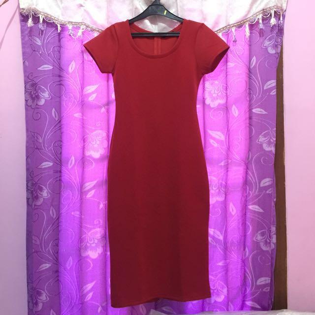 Midi Red dress