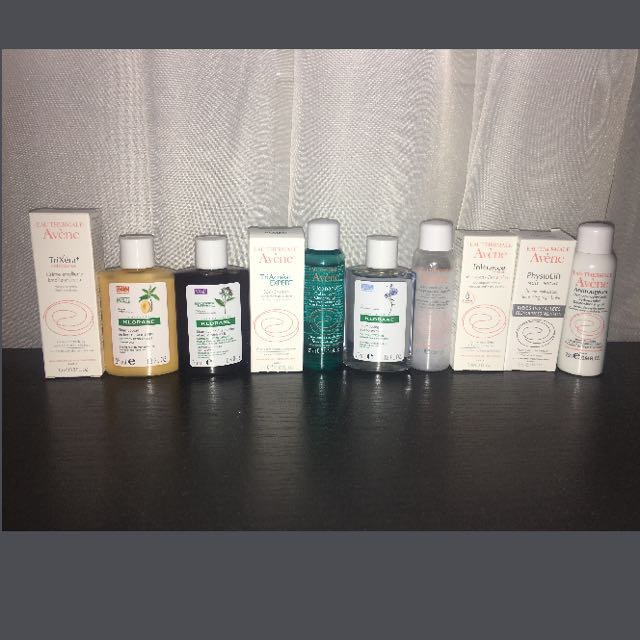 Mini Avene products x10