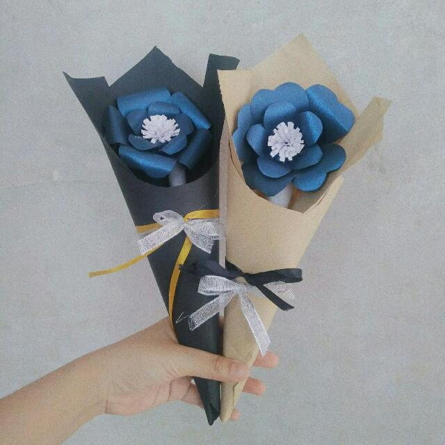 Mini Paper Flower Bouquet