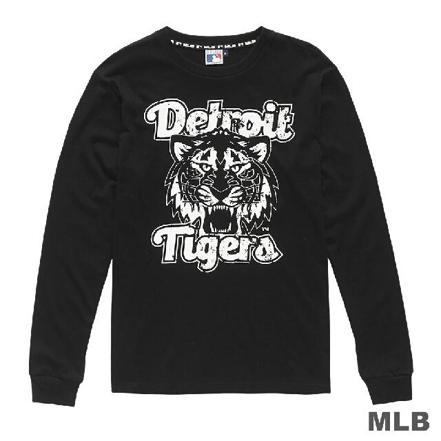 MLB球隊美式風格LOGO印花長袖T款