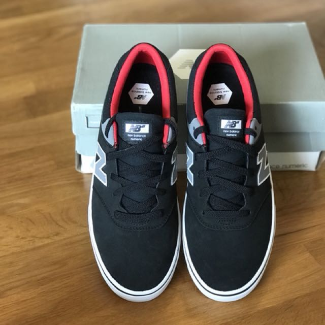0db81e8dec795 New Balance Numeric Shoes Quincy 254 – Black Grey Red, Men's Fashion,  Footwear on Carousell