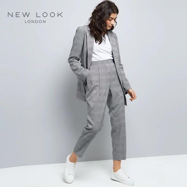 英國平價潮牌New Look 格紋褲